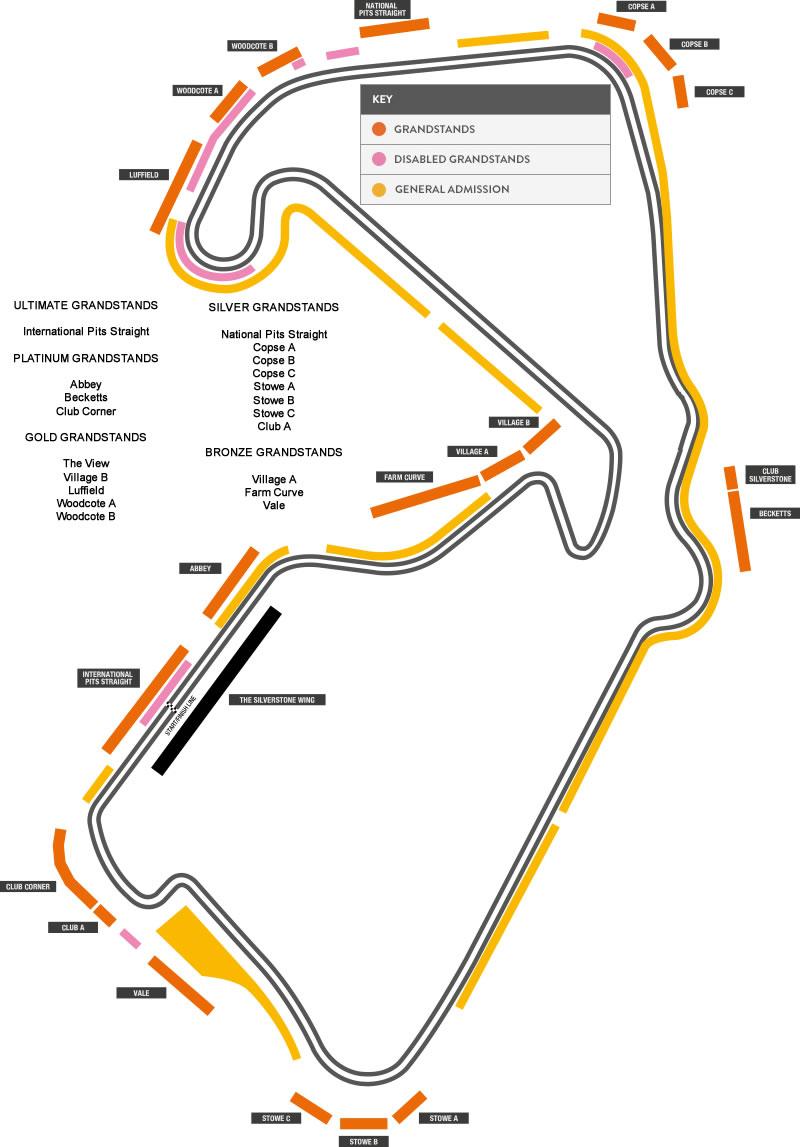 Just Tickets and Motoring - British Grand Prix